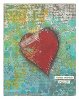 Trust Heart Fine Art Print