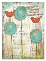 Singing Birds Fine Art Print