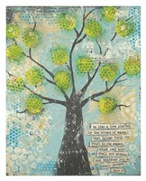 Be Like a Tree Fine Art Print