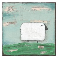 Hope Sheep Fine Art Print