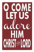 Let Us Adore Him Fine Art Print