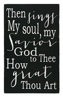 How Great Thou Art Fine Art Print