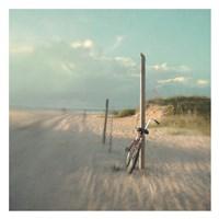 Biking on Ocracoke Fine Art Print