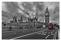 Double Decker, London Fine Art Print