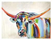 Long Horn Fine Art Print