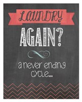 Laundry Again Fine Art Print