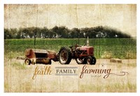 Faith Family Farming Fine Art Print