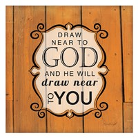 Draw Near to God Framed Print