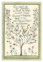 Serenity Prayer Fine Art Print