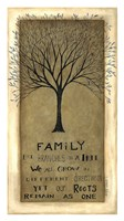 Family Tree Fine Art Print