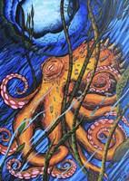 Octo 2 Fine Art Print