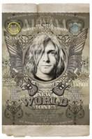 Cobain Framed Print
