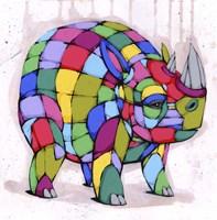 Born Colorful Fine Art Print