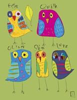 Owls 3 Fine Art Print