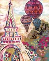 Ballons Sur Paris Fine Art Print