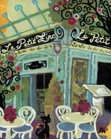 Le Petit Zinc Framed Print
