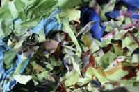 Color Cups & Tape 44 Framed Print