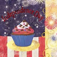 Cupcake Holidays III Fine Art Print