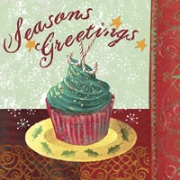 Cupcake Holidays IV Fine Art Print