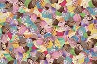 Cupcake Mania Fine Art Print