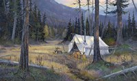 Base Camp Fine Art Print
