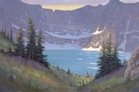 Iceberg Lake Fine Art Print
