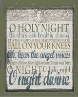 Oh Holy Night Fine Art Print