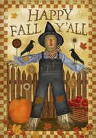 Happy Fall Y'all III Fine Art Print
