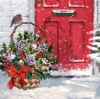 Christmas Basket Fine Art Print