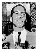 Malcolm X Fine Art Print
