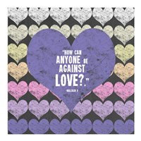 Against Love Fine Art Print