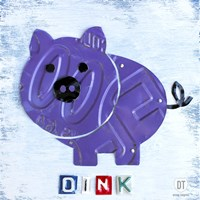 Oink The Pig Fine Art Print