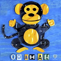 Oo Ah Ah The Monkey Fine Art Print