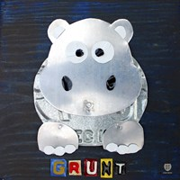 Grunt The Hippo Fine Art Print
