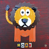 Roar The Lion Framed Print