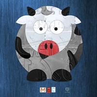 Moo The Cow Fine Art Print