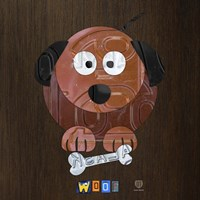 Woof The Dog Fine Art Print