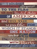 Pledge Of Allegiance Fine Art Print