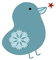 Snowflake Bird Fine Art Print