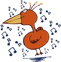 Music Bird Fine Art Print