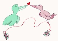Love Birds Fine Art Print