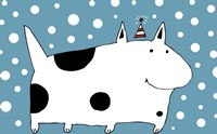 Snow Dog Fine Art Print