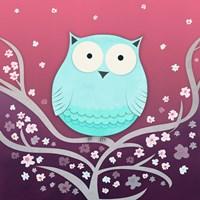 Spring Owl Framed Print