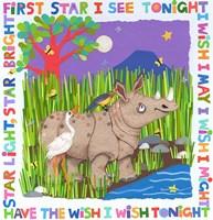 First Star I See Tonight Framed Print