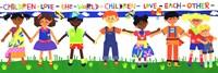 Children Love the World Fine Art Print