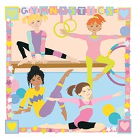 Gymnastics Fine Art Print