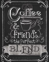 Coffee & Friends Fine Art Print