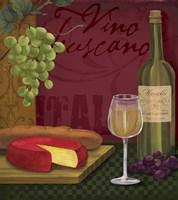 Vino Toscano Framed Print