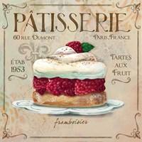 Patisserie I Fine Art Print