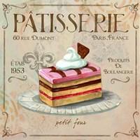 Patisserie II Fine Art Print
